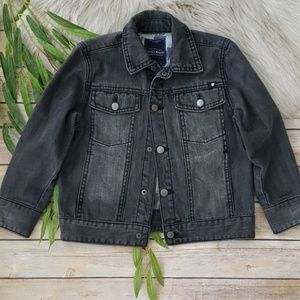 Lucky Brand Black Denim Jean Jacket